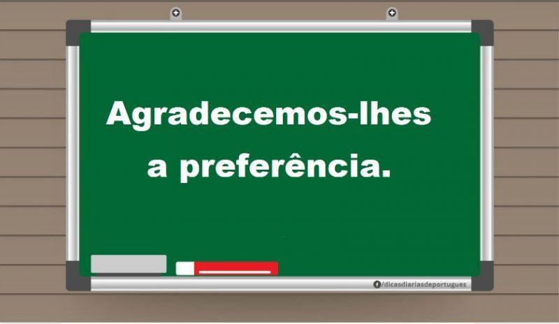 Conheça a regência do verbo AGRADECER