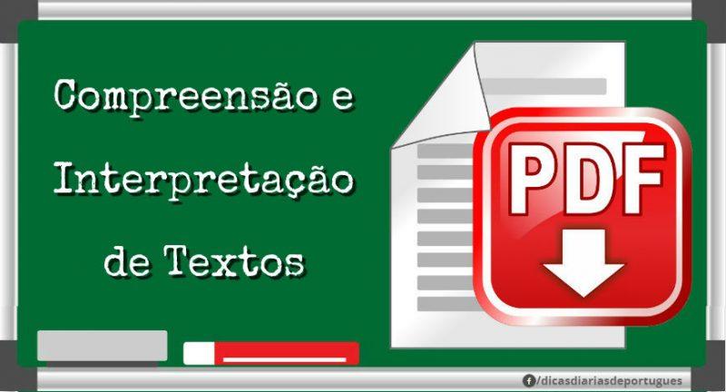 Materiais em PDF: compreensão e interpretação de textos