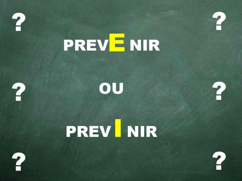 Prevenir ou Previnir? Qual a forma correta?