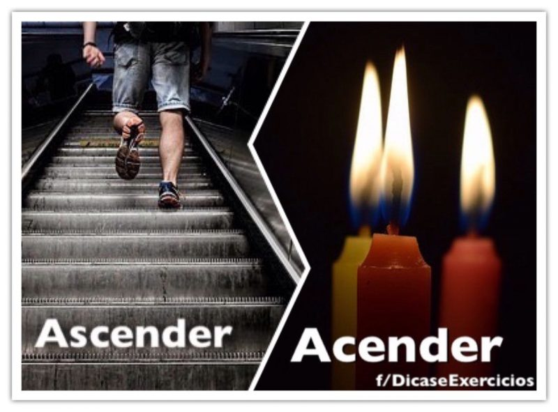 Acender ou ascender? Qual a diferença entre cada termo?