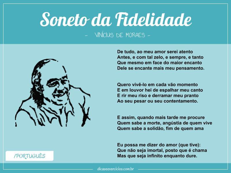 Soneto da Fidelidade – Vinícius de Moraes