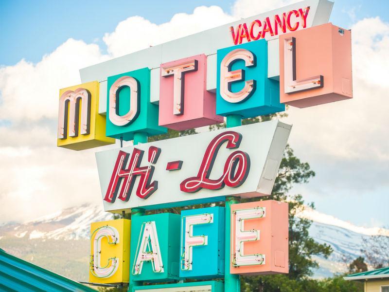 Falso cognato: Motel