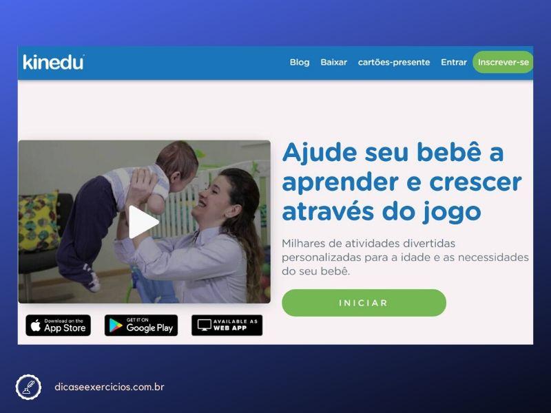 Grátis! App de Desenvolvimento para Crianças de 0 a 4 anos – Kinedu