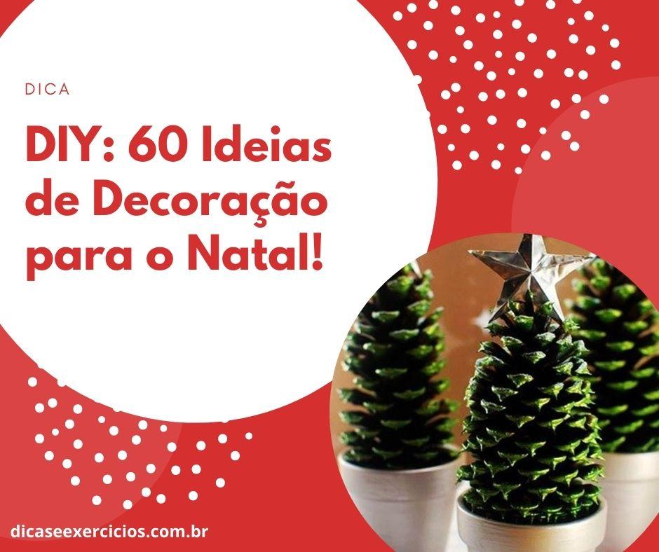 DIY: 60 Ideias de Decoração para o Natal!