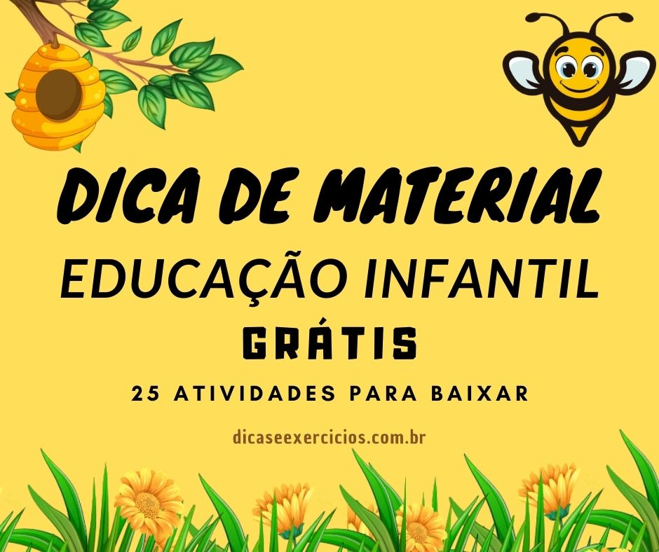 Dica de Material para Educação Infantil!