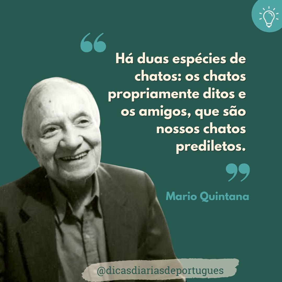 115º aniversário de  Mario Quintana; veja frases do poetinha