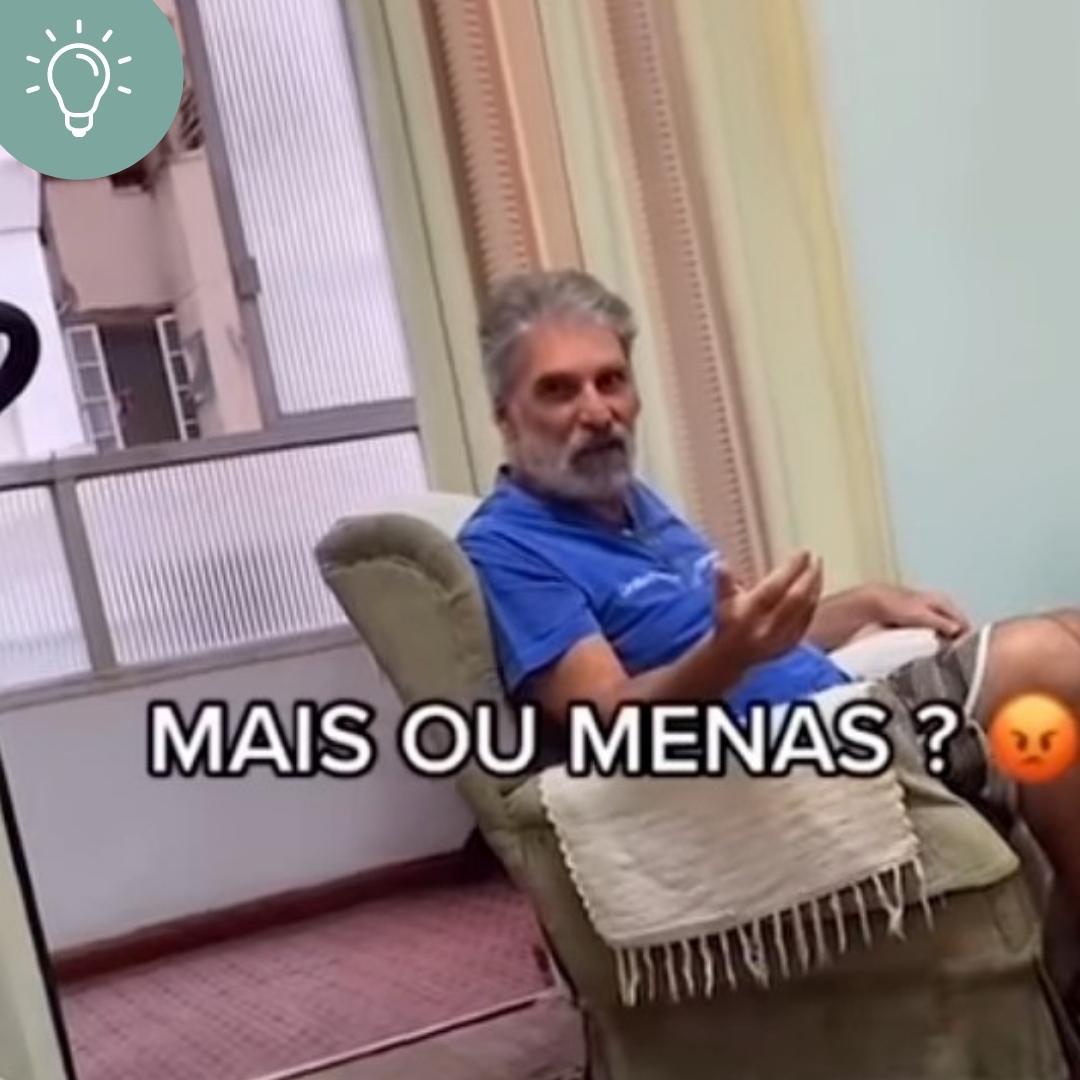 Jovem irrita pai com erros de português! Assista!